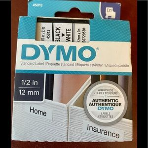 DYMO Label Maker Tape #45013